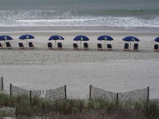 The Verandas: View of Beach from Balcony
