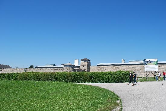 Mauthausen Memorial : outside of concentration camp