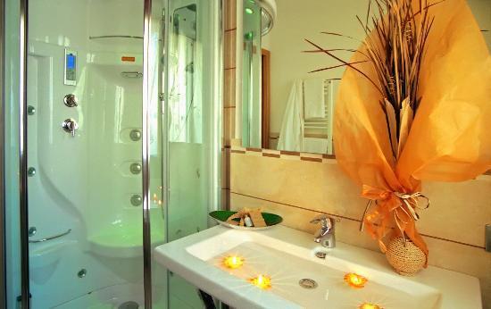 Hotel Palos: bagno