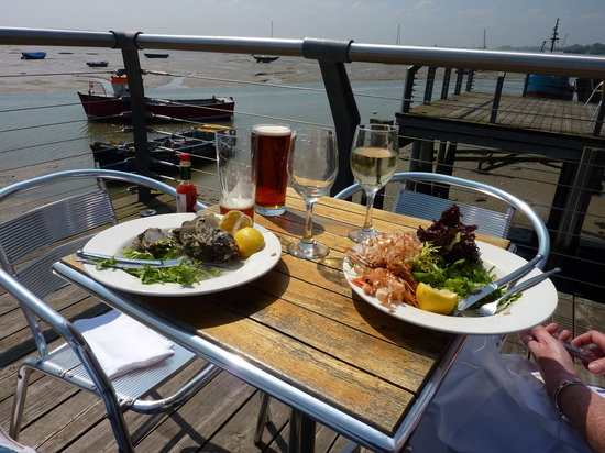 The Boatyard Restaurant : The remains of the starter