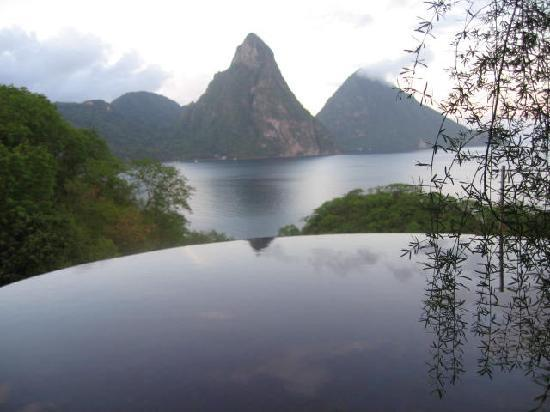 Jade Mountain Resort: Amazing...no picture will do this