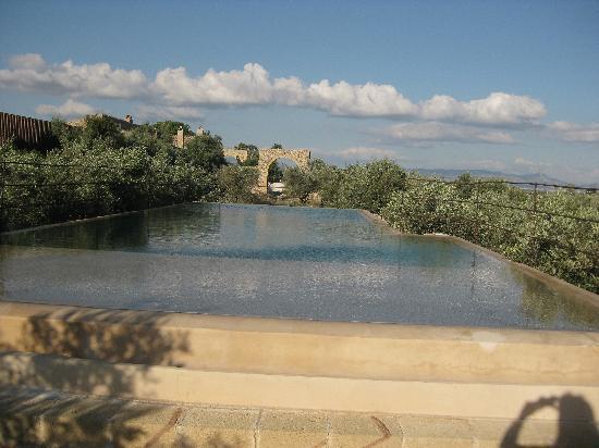 Villa Sicilia Baglio : la splendida piscina!