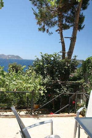 Cakil Pension: terrasse