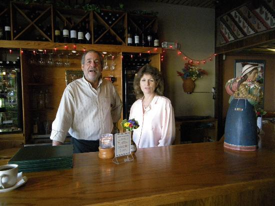 Javier's Restaurant and Wine Bar : Owners Javier and Mary