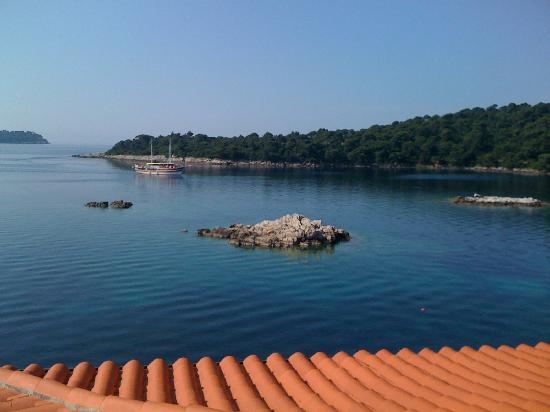 Hotel Bozica: view from balcony