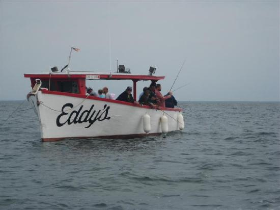 Eddy's Resort: Eddys Launch on Mille Lacs