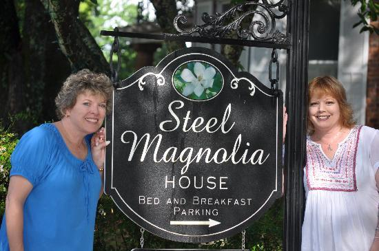 Steel Magnolia House Bed & Breakfast : Finally Got to Be Here!