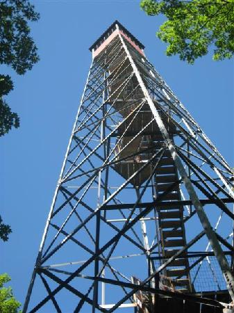 Mille Lacs Kathio State Park: Kathio - observation tower