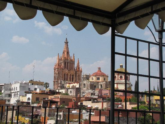 ‪‪Casa Maricela‬: view of centro from Casa Marisela terrace‬
