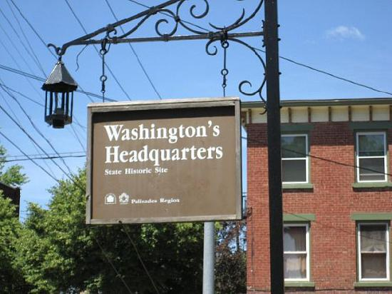 Washington's Headquarters State Historic Site : The Sign of this Historic Site