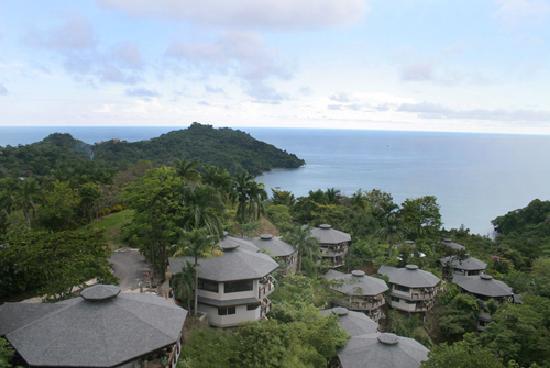 Tulemar Resort : Aerial View of the Premium Villas
