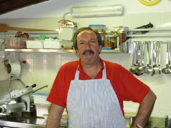 La Vecchia Quercia : Franco, the Owner