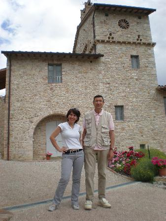 Emanuele Sanvico and Nicoletta - Agri&Golf