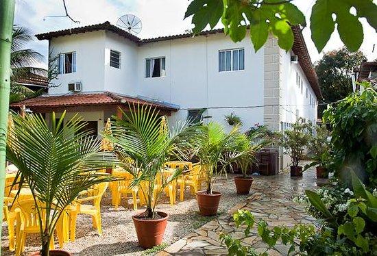 Che Lagarto Hostel Paraty: Espacio común externo