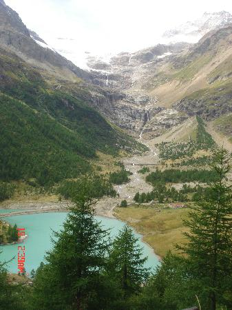 Poschiavo, Suiza: lago Palù