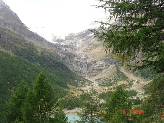 Poschiavo, Suiza: ghiacciaio