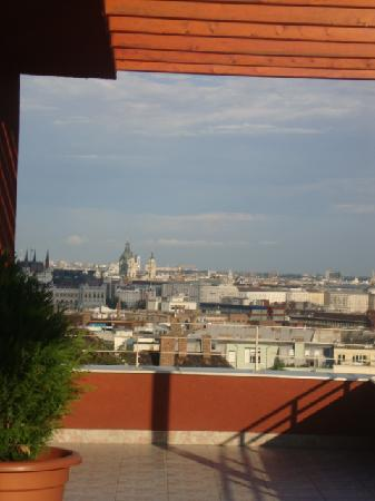 Hotel Papillon : View from terrace