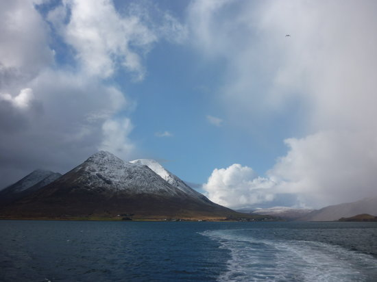 Carbost, UK: Sailing to Raasay
