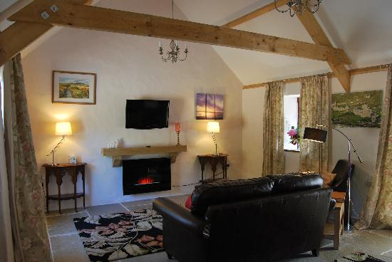 Crug Glas Country House: The Living Room