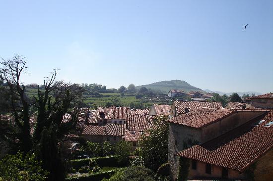 La Casa del Organista: View from balcony of hotel