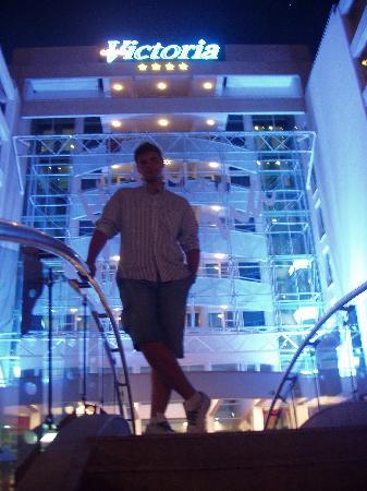 Grand Victoria Hotel : The hotel at night...