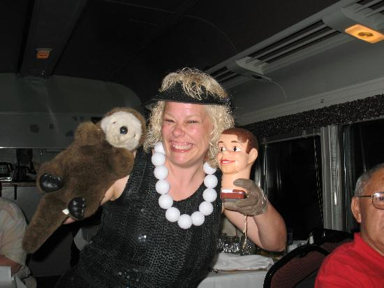 Blissfield Murder Mystery Train: Chip lost his head.....