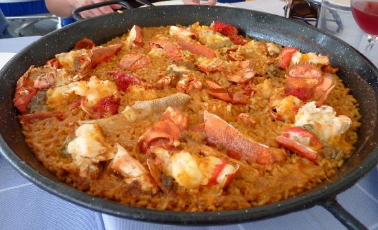 Can Majó: Lobster paella