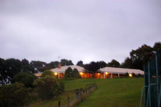 Claerwen Retreat: the main guesthouse