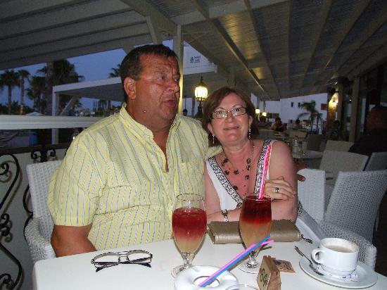 Anastasia Beach Hotel: large brandy soars
