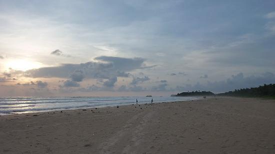Sri Budhasa Ayurveda Resort: Strand