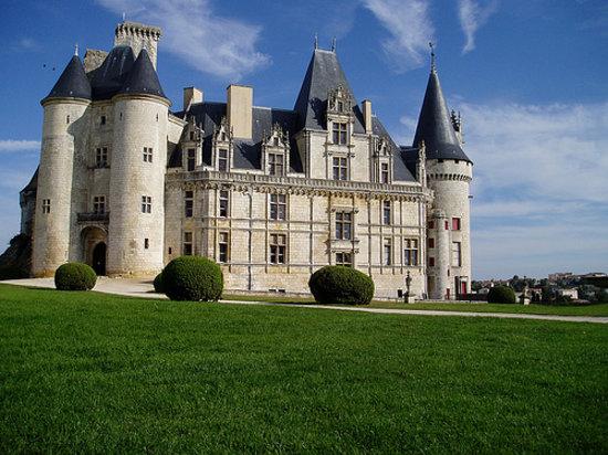 Charente, France: Château de La Rochefoucauld