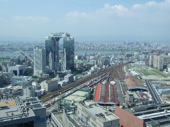 The Ritz-Carlton, Osaka: Blick aus Zimmer