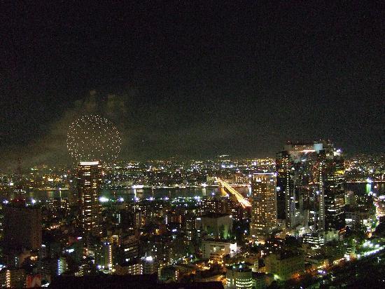 The Ritz-Carlton, Osaka: Feuerwerk