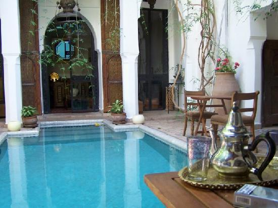 Piscine picture of riad lyla marrakech marrakech for Riad marrakech piscine chauffee