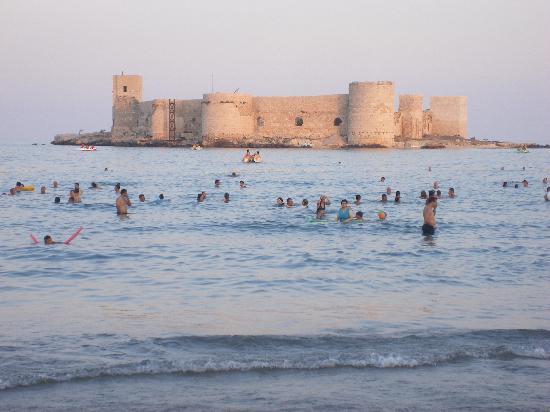 Rize, Türkiye: the offshore castle