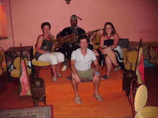 Club Eldorador Palmeraie : Restaurant marocain