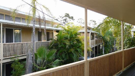 Coconut Palms on the Bay: Balcony view