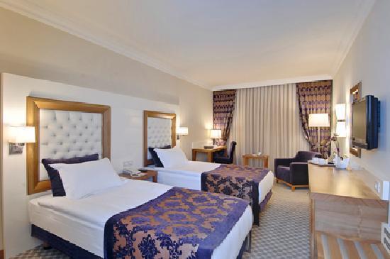 Tugcu Hotel : chambre double a 2 lits