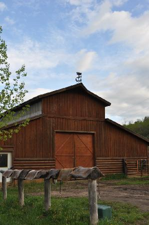 Moose Creek Ranch: Horse Barn
