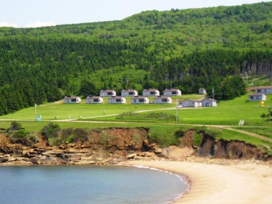 Whale Cove Summer Village: 30 family cottages - rustic, yet comfortable.