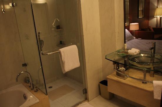 Huarui Danfeng Jianguo Hotel: Toilet