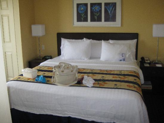 سبرنج هل سويتس باي ماريوت ريتس موند نورث: The bed