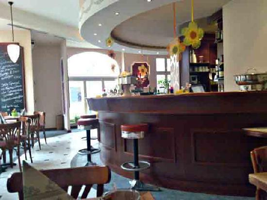 Hotel Palmenhof: Da es im Hotel kein Restaurant hat, kooperiert es mit diesem Restaurant, nur wenige Schritte um