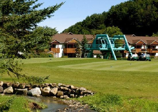 Ellicottville, นิวยอร์ก: Number 9 Tee, Holiday Valley Double Black Diamond Golf Course