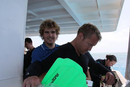 Reef Experience: Dive Guide Alex - He's amazing!