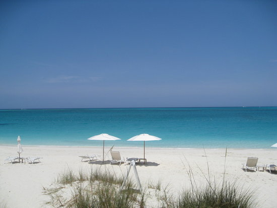 Grace Bay, Providenciales: our spot on the beach
