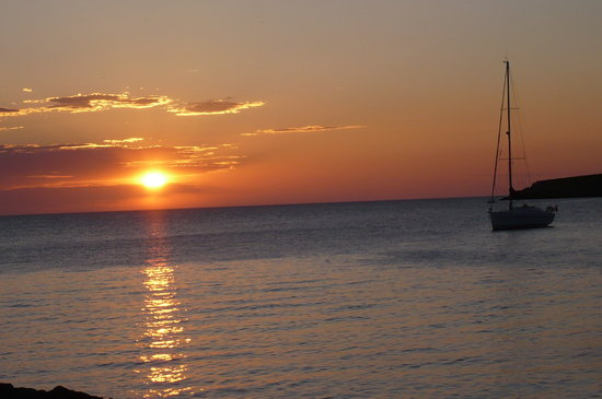 Ибица, Испания: Ibiza Atardecer en Sant Antoni de Portmany