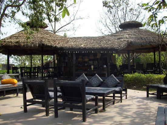 a part of the lounge&restaurant at Sapana Village Lodge