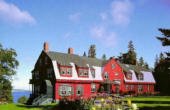 Campobello Island, Canada : Franklin D. Roosevelt's Summer Cottage