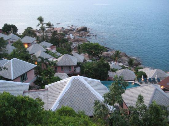 Merit Wellness & Mind Retreat Resort Samui: Zimmerausblick